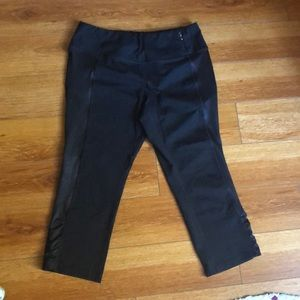 Calia crop leggings. Size L